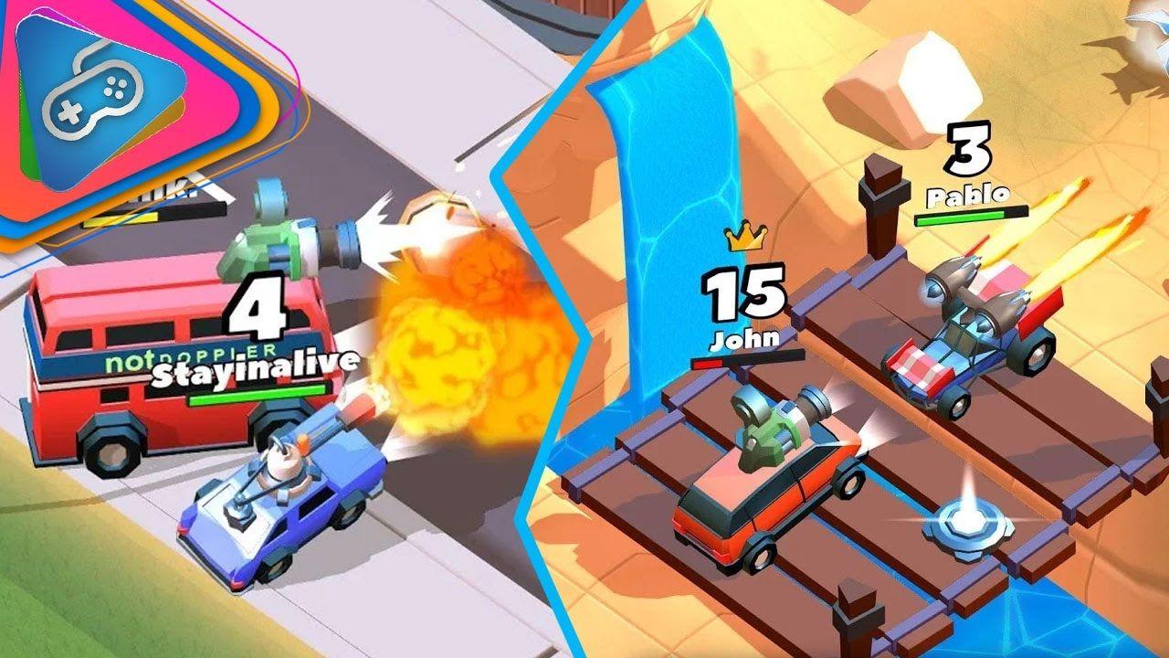 Crash of Cars Gameplay 2017 Android games, Fun, Fun slide