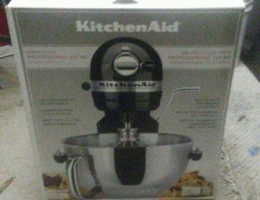 Kitchenaid commercialstyle 55 qt stand mixer