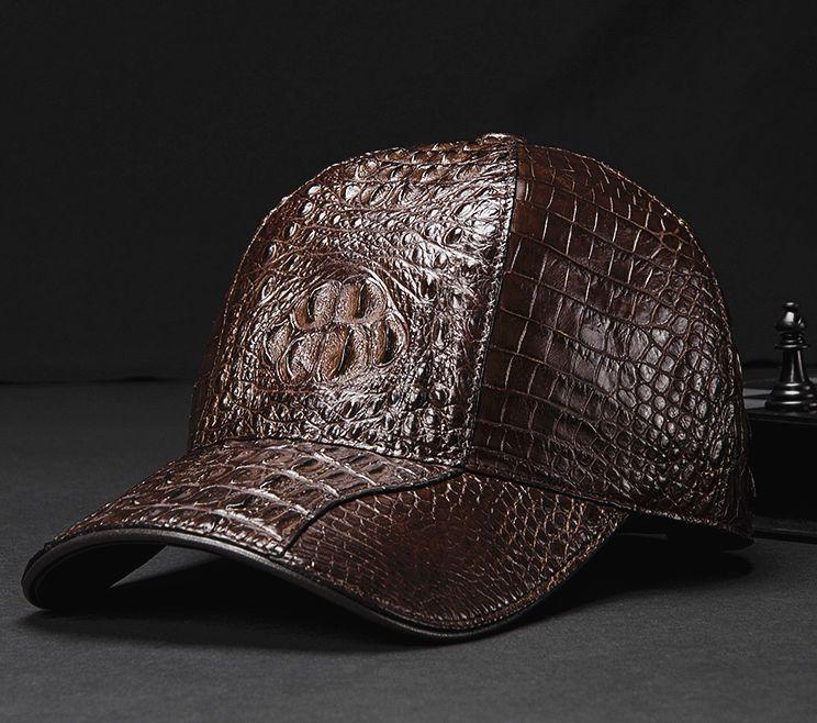 f0e884f17a7286 Alligator Skin Hat, Crocodile Skin Hat Baseball Cap in 2019 ...