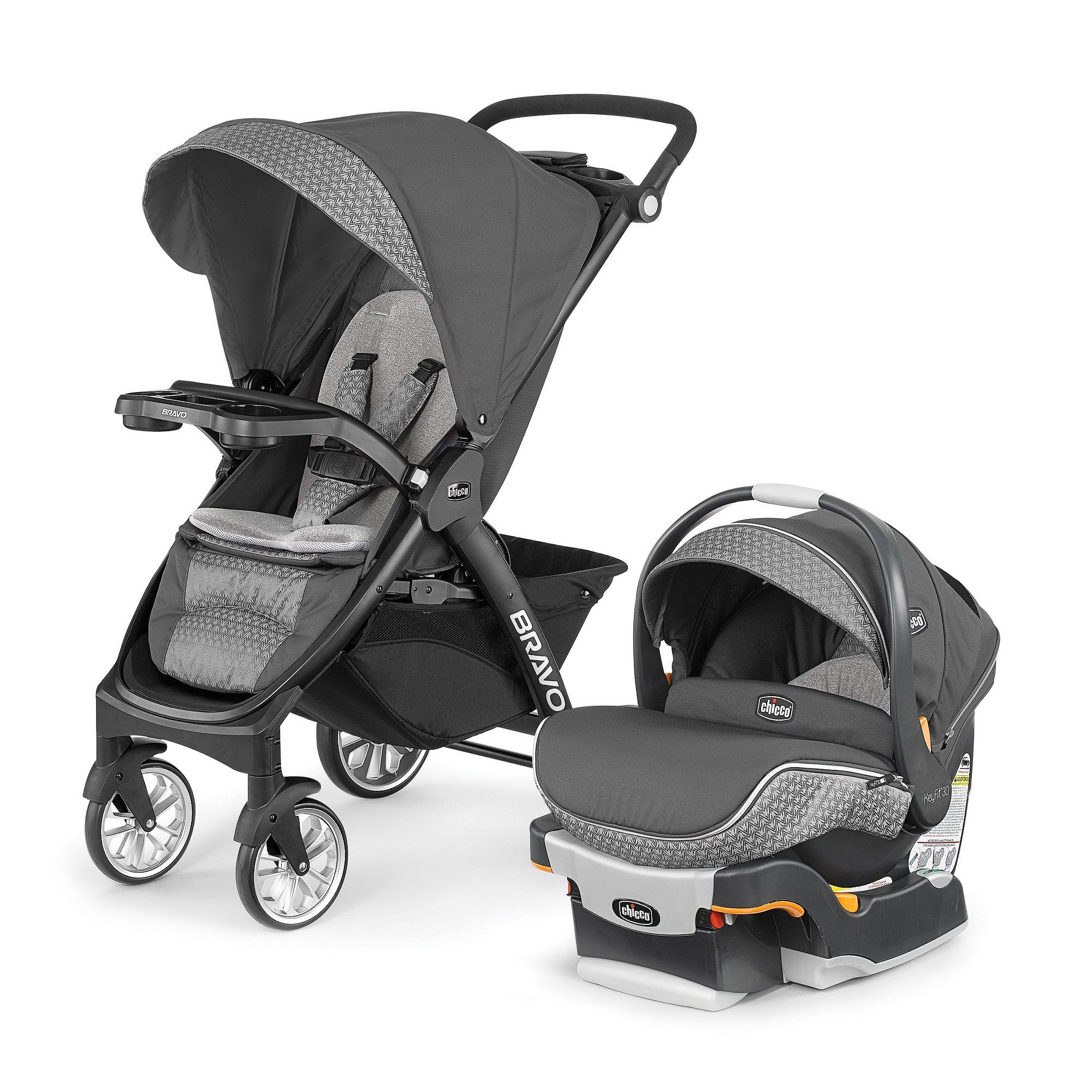 Chicco Bravo LE Travel System Silhouette Travel system