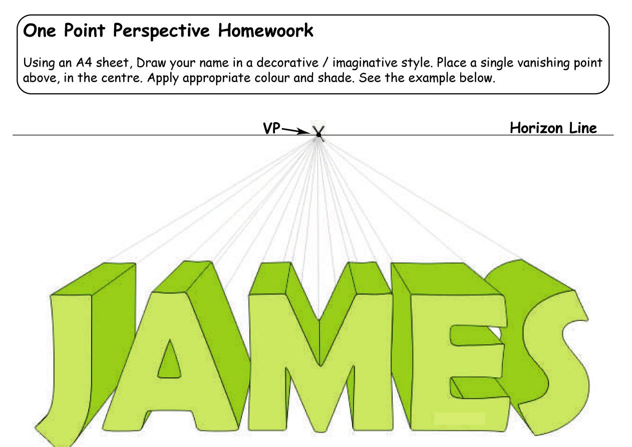 Workbooks symmetry worksheets for high school : Image detail for -homework 2 pdf one point perspective homework 2 ...