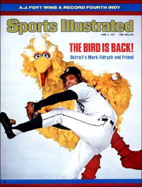 Artie's Pick: One of my all-time favorite magazine covers  Mark Fidrych SI cover #baseball #bigbird