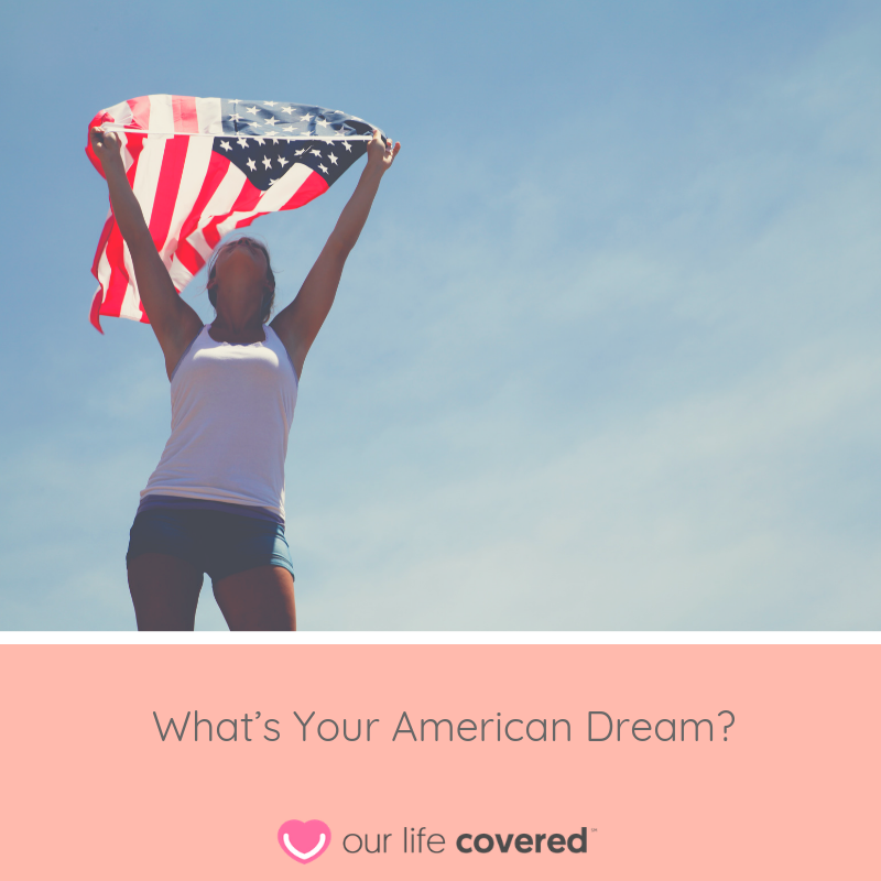 What's Your American Dream? American dream, Met life