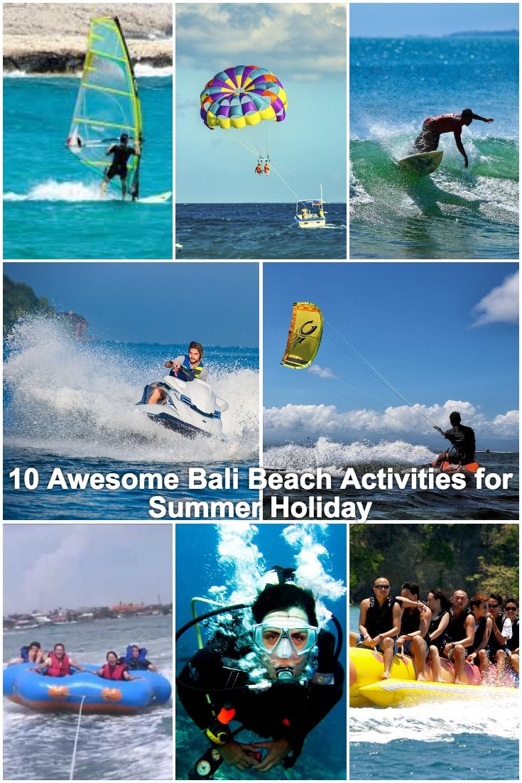 Bali, Indonesia is a place for the adventure and fun seeker.     10 Awesome Bali Beach Activities for Summer Holiday | Bali Water Sports | Water Sports in Bali | Beach activities in Bali | Things to do in Bali | What to do in Bali | Adventure activities in Bali | Beaches in Bali | Fun things to do in Bali | Summer in Bali | Vacation in Bali | Holiday in Bali | #Travel #Bali #Indonesia #SummerVacation #SummerInBali #BeachActivities  #BaliBeaches #Adventure #AdventureActivities #WaterSports