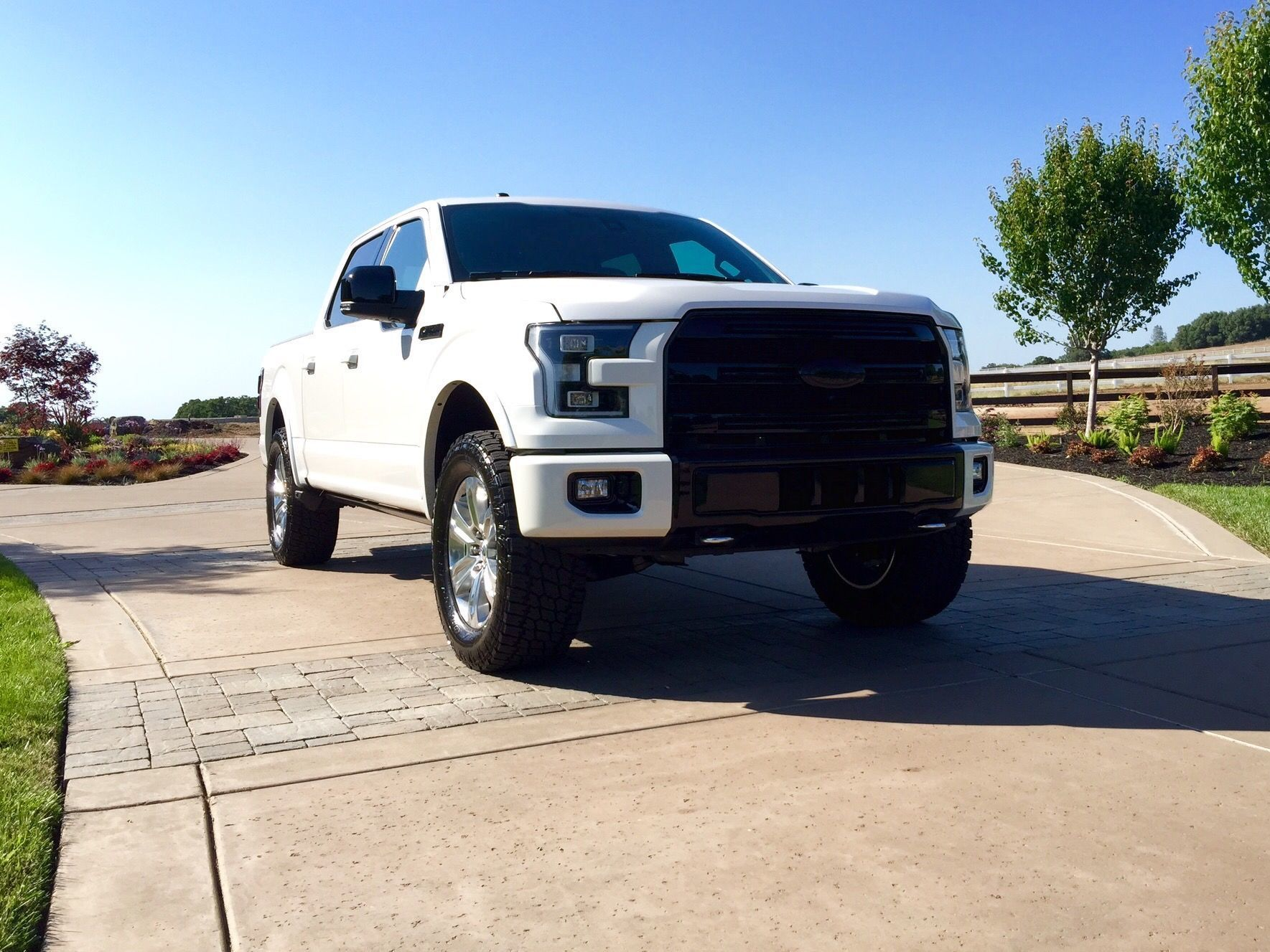 Show me your Leveled trucks with OEM rims Page 3 Ford F150