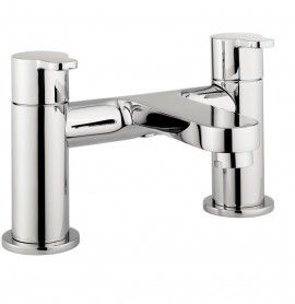 Central bath filler Features Deck mounted Water pressure: LP Height: 143mm Projection: 128mm