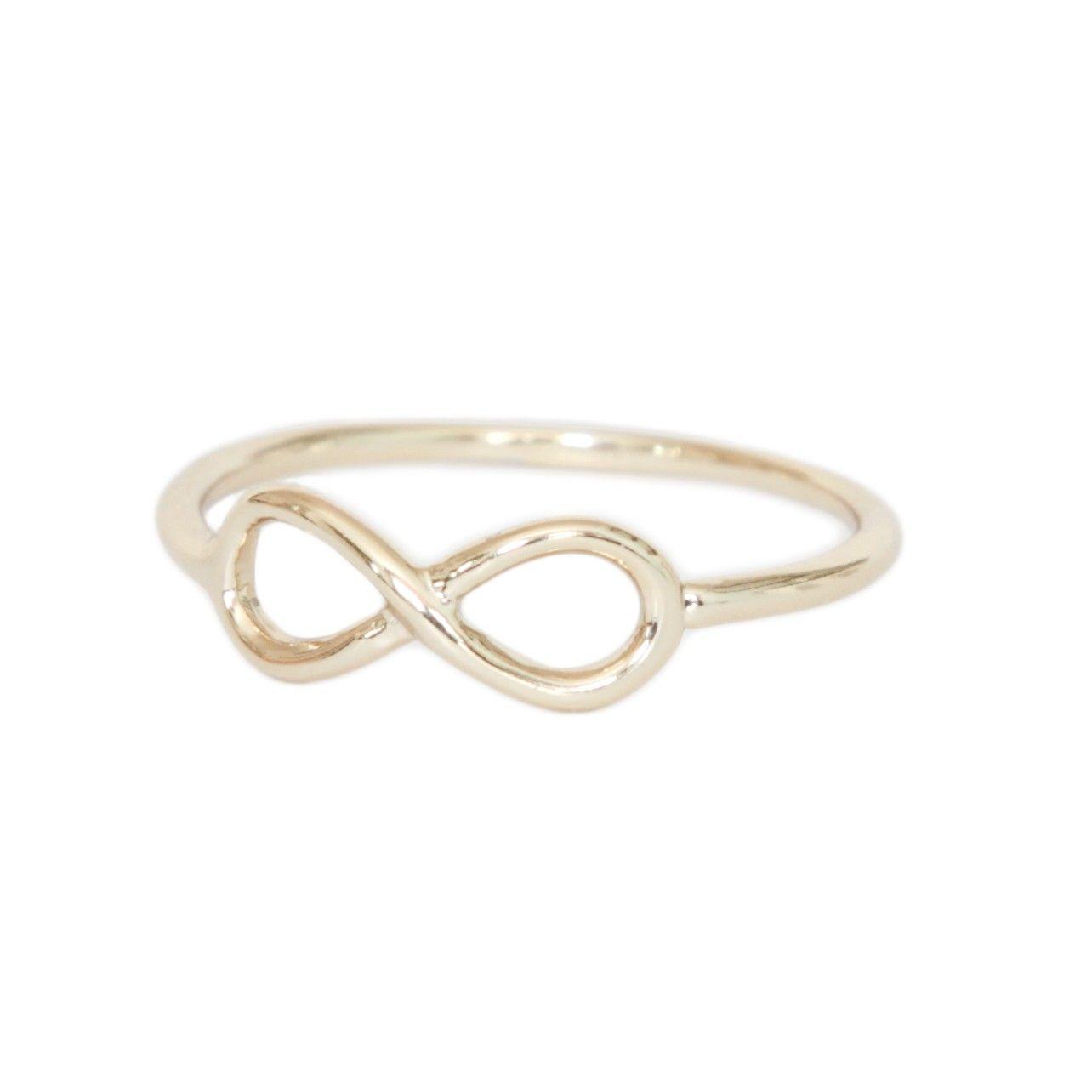 Infinity Ring - Rings - Jewellery | Beautiful Costume Jewellery from Orelia