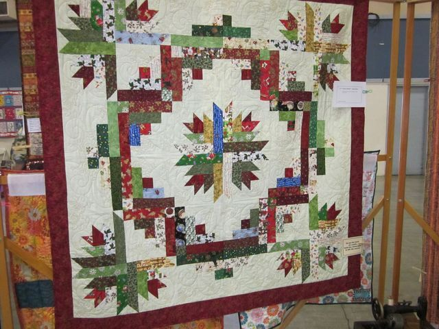 quilt show entry