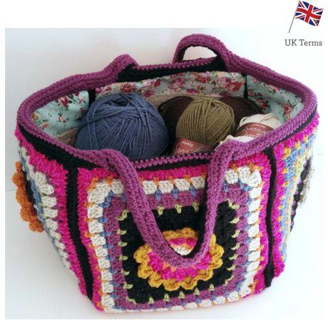 Crochet Along Stylecraft Cal Project Bag Free Pattern Haken