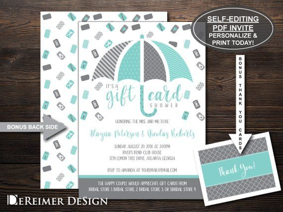 6db2a408c158 Gift Card Shower Invitation