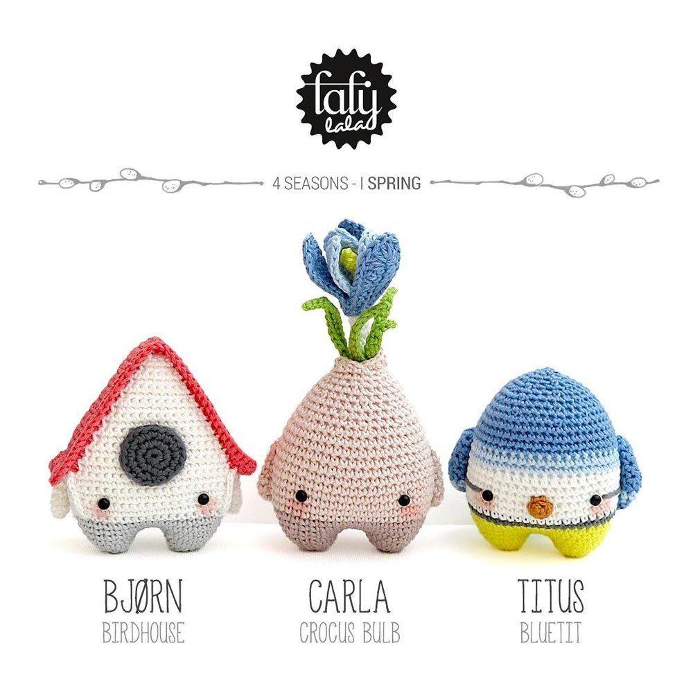 LUPO the lamb / sheep • lalylala crochet pattern / amigurumi ... | 1000x1000
