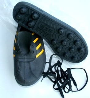 Jungle Shoe Called The Adidas Kampung Rubber Shoes Black Rubber Jungle Boots