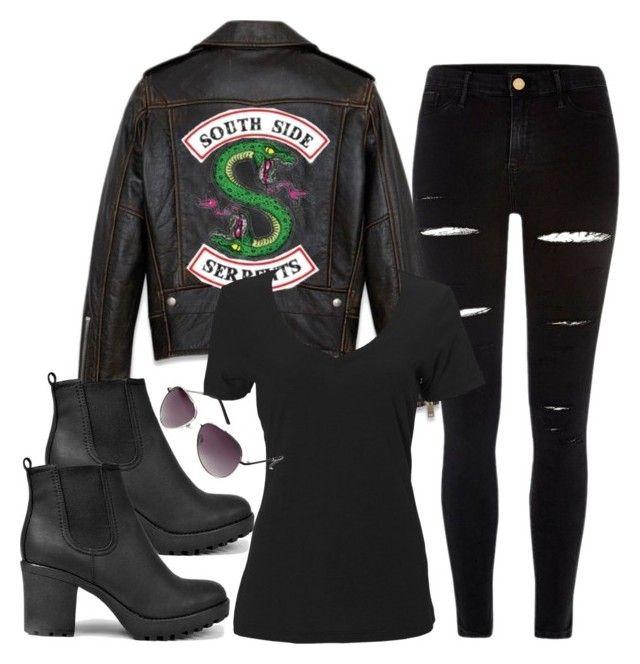 Hot Cool Girls Southside Serpents Riverdale Damen-Lederjacke Jacken Mode Mädchen