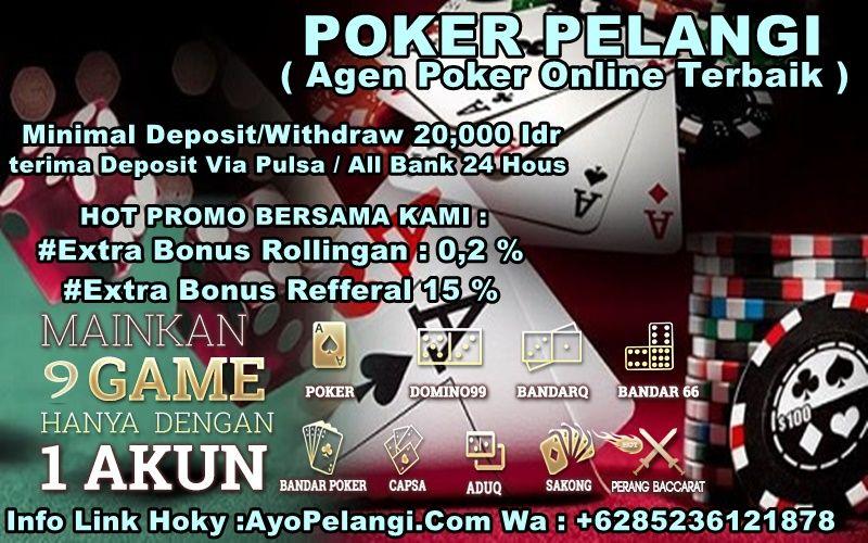 Pin On Poker Pelangi