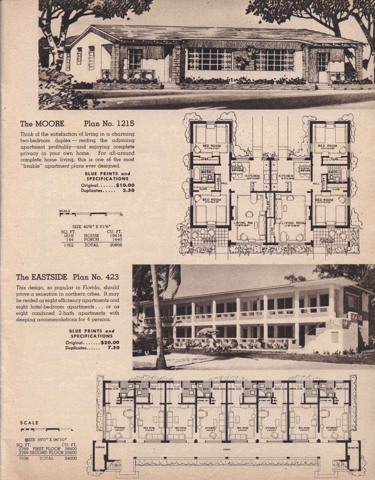 Plans For Hotels Apartments Tourist Courts Page X2f N0 X2f Mode X2f 2up How To Plan Tourist Apartment Plans