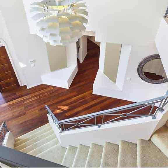 Carpet Is One Of The Most Popular Floor Coverings It S Durable Soft Quiet Underfoot And Good For Insulation B Foyer Design Staircase Design Modern Flooring