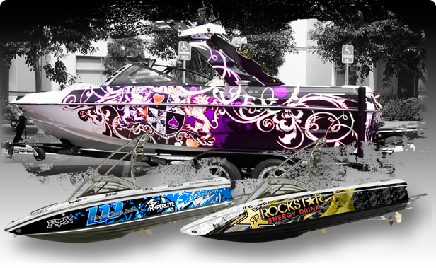 Boat Wraps Boat Wraps Wakeboard Boats Boat
