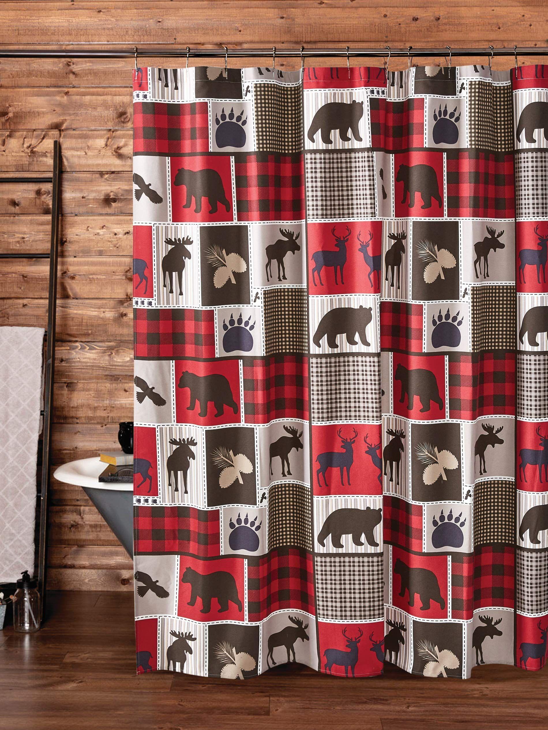 Virah Bella Lodge Life 72 Quot X 72 Quot Shower Curtain Set With