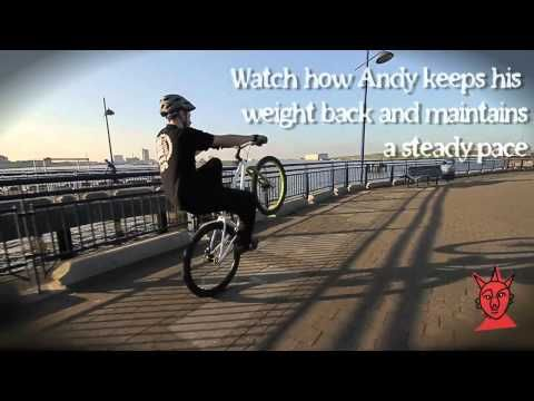 Think Bikes Tutorials 9 The Wheelie Tutorial Bike