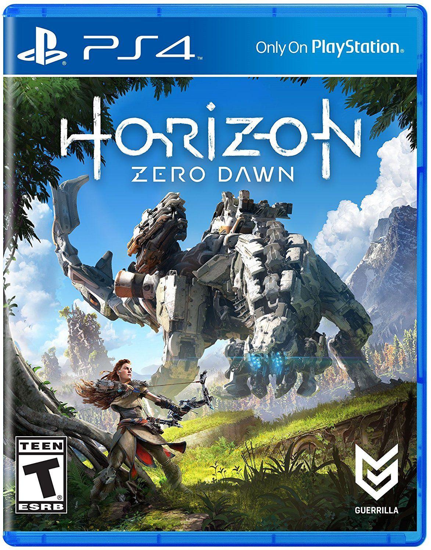 Horizon Zero Dawn Game Cover Horizon Zero Dawn Video Game Reviews Ps4 Games