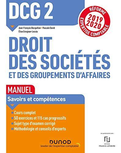 Télécharger DCG 2 Droit des sociétés et des ...