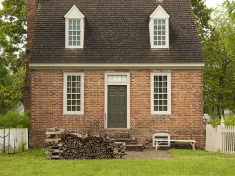 a small colonial home in williamsburg pinterest colonial house