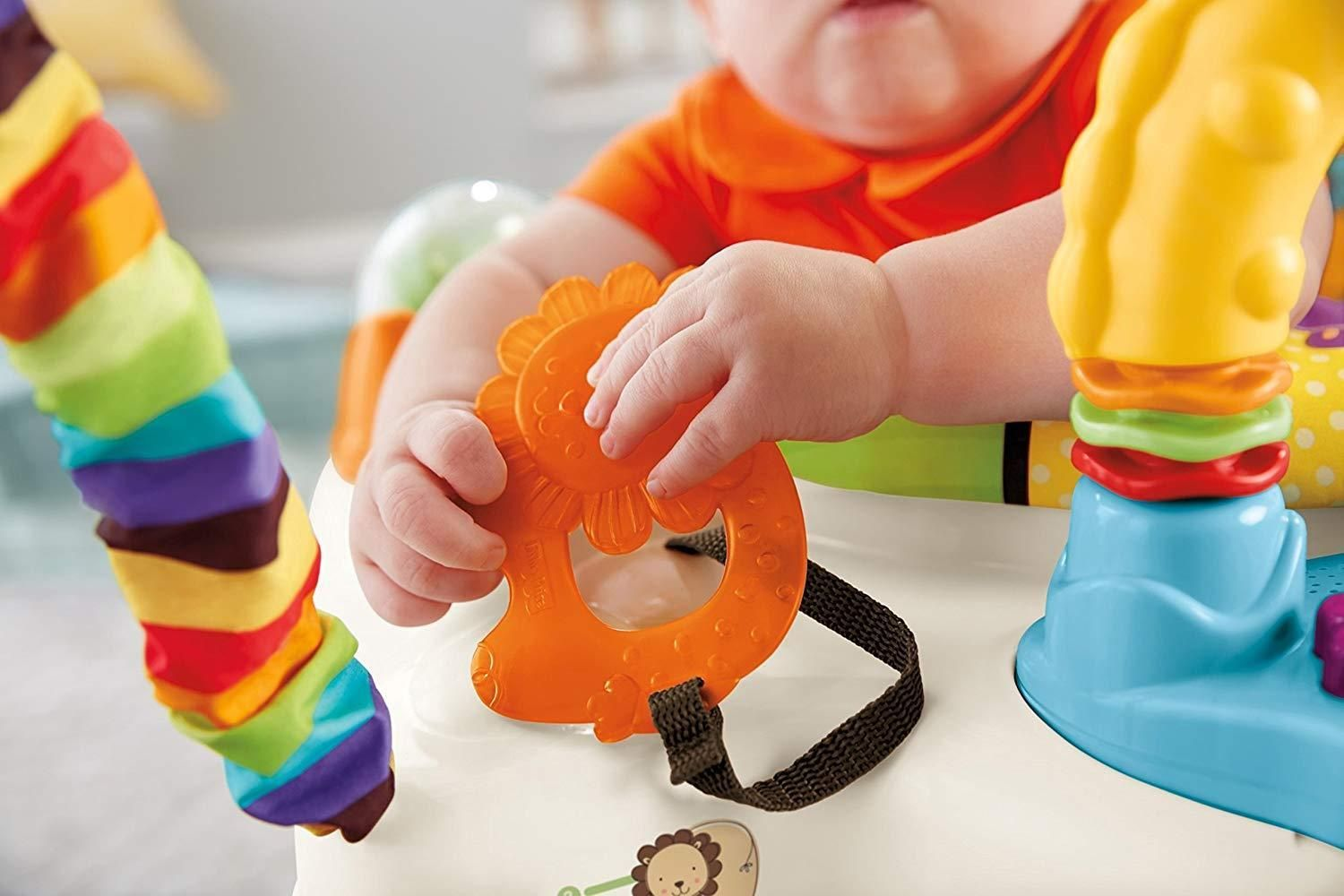 Baby bouncer toy fisher price luv u zoo jumperoo learn