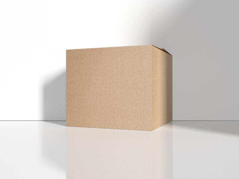 Free Cargo Delivery Cardboard Box Mockup Dribbble Graphics Box Mockup Cardboard Box Mockup