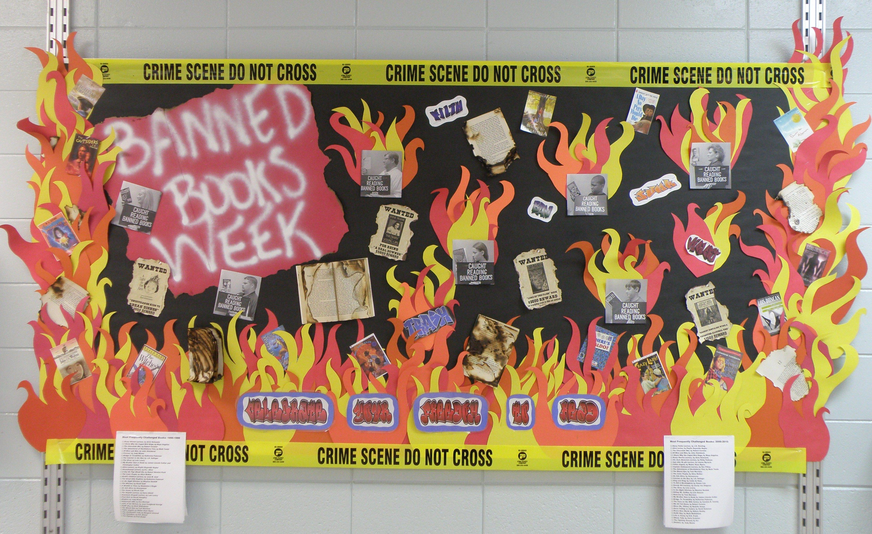 Banned books week september 30thoctober 6th library