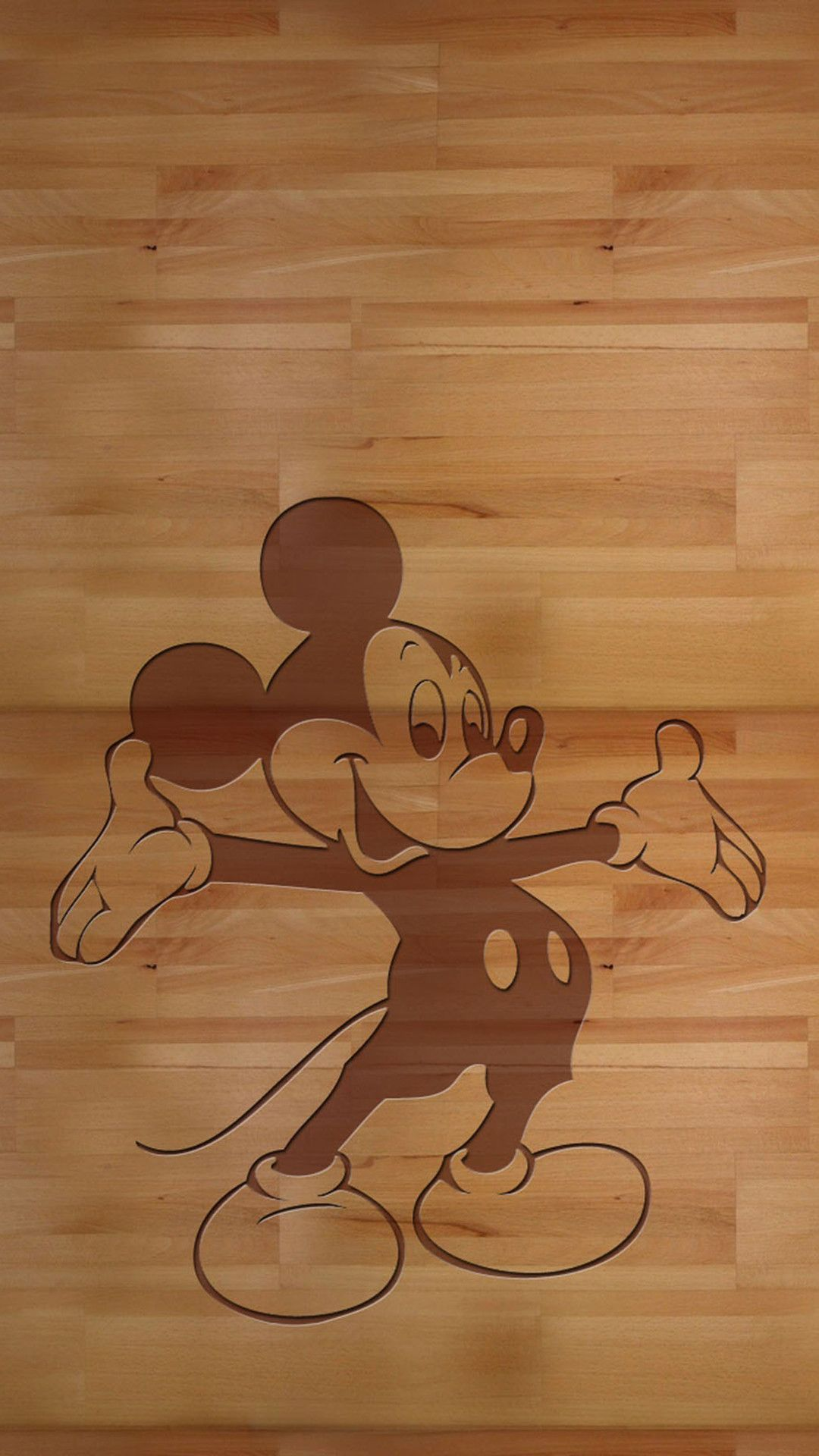 Mickey Mouse iPhone6s wallpaper Apple, Wood, Wallpaper