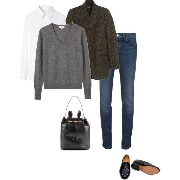 A fashion look from October 2014 featuring Lou sweaters, Yohji Yamamoto tops y Isabel Marant coats. Browse and shop related looks.