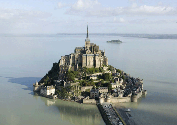 Mont-Saint-Michel Normandy, France.