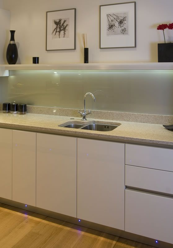 acrylic splashback kitchen gloss - Google Search Home Pinterest