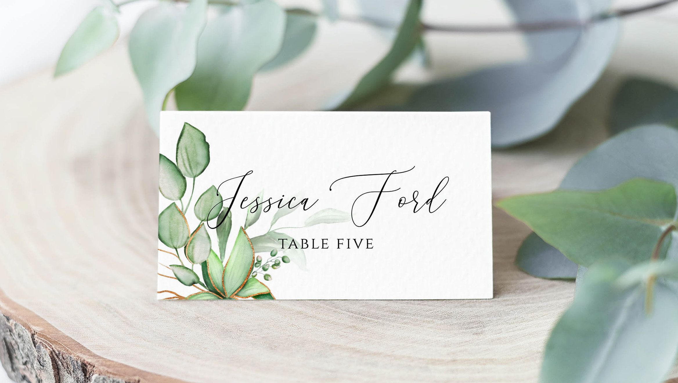 Greenery Wedding Place Cards Template Table Seating Card Etsy In 2021 Wedding Seating Cards Wedding Place Cards Wedding Places
