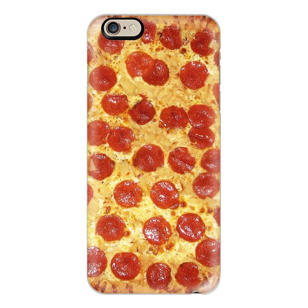 iPhone 6 Plus/6/5/5s/5c Case - Delicious Pepperoni / Salami Pizza -... ($40) ❤ liked on Polyvore featuring accessories, tech accessories, iphone case, pattern iphone case, iphone cover case, apple iphone cases and print iphone case