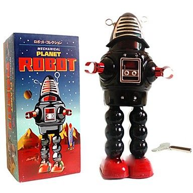 Tin Roby the Robot Wind-Up Toys for Collection http://mxpi.co.nf/?item=1897280