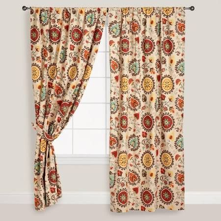 Charming Orange Mexican Curtains   Google Search
