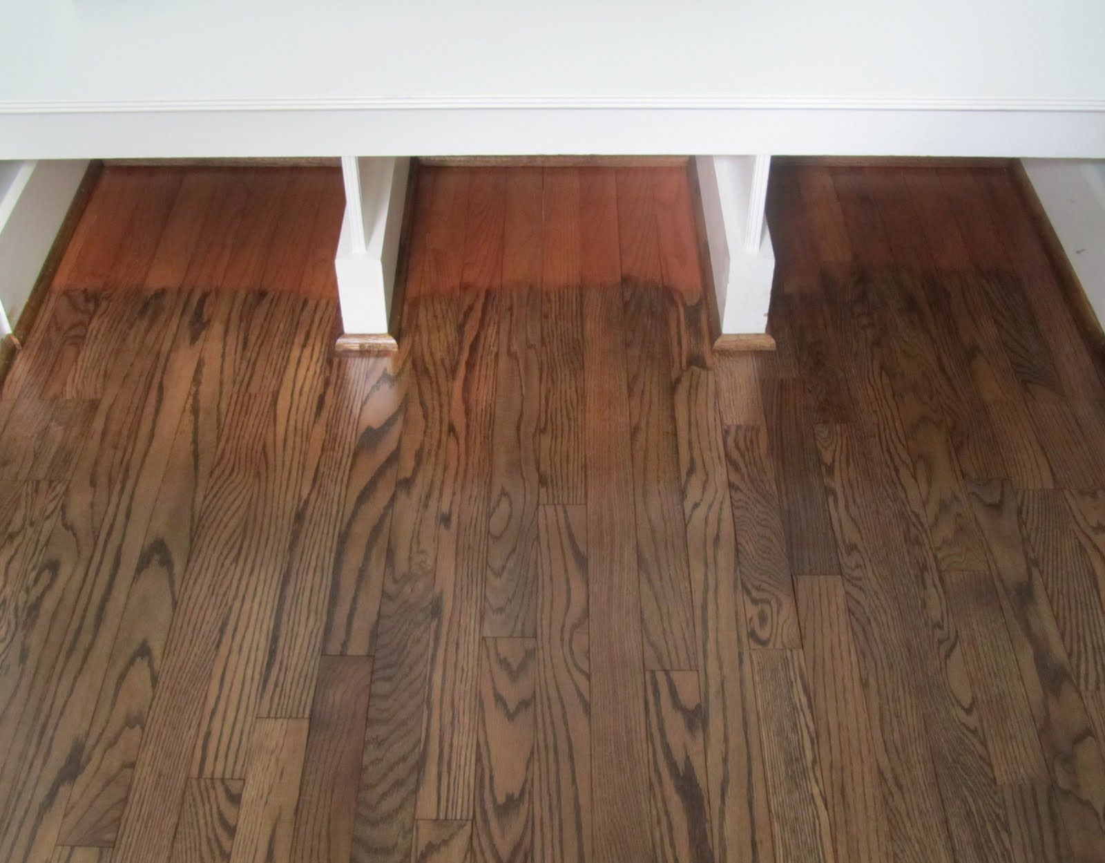Before And After Hardwood Floors | ... Acorn: The Process Of Refinishing  Hardwood. Sanding ...