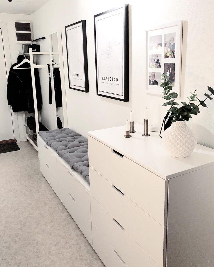 Godmorgon hoppas att ni får en toppendag! #hallway elins #Garderobe #Flur #D… – Flur ideen