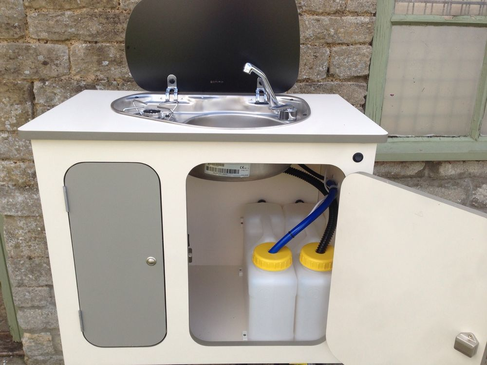 Campervan unit kitchen unit pod smev 8821 sink hob t4 t5 for Lifestyle kitchen units