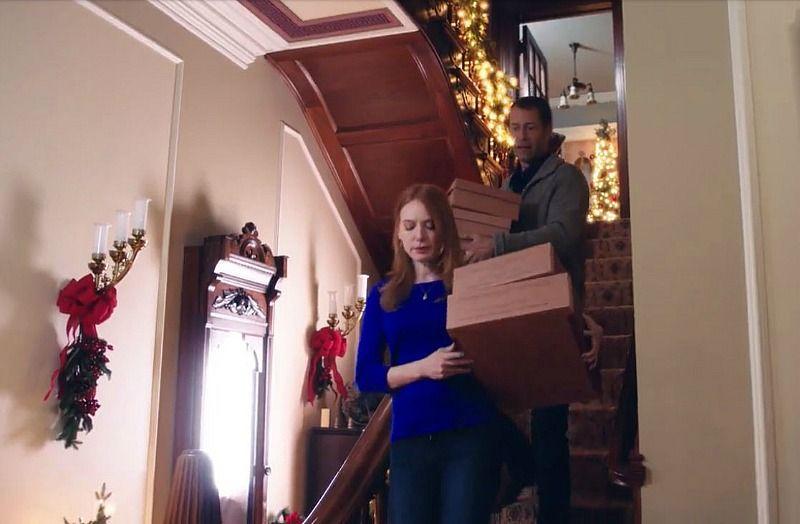 "The House from Hallmark's ""Christmas on Honeysuckle Lane"" | Alicia witt, Hallmark christmas ..."