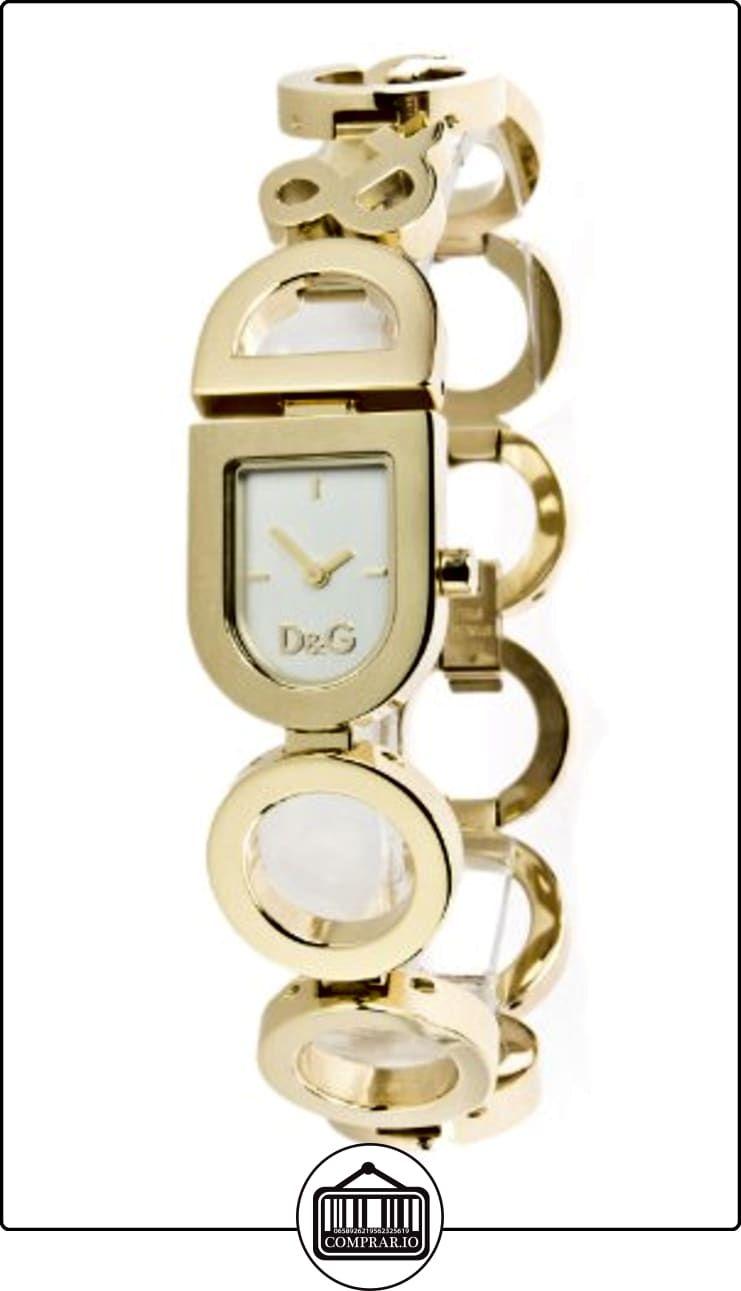 c5b413ae0700 Dolce   Gabbana DW 0130 - Reloj de mujer de cuarzo con correa de acero  inoxidable dorada ✿ Relojes para mujer - (Gama media alta) ✿