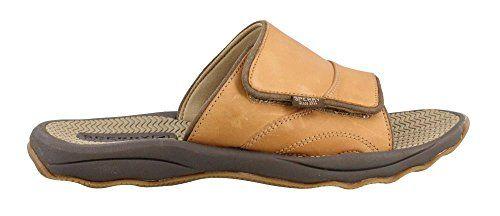 Outer Banks Slide,Peanut Leather,U