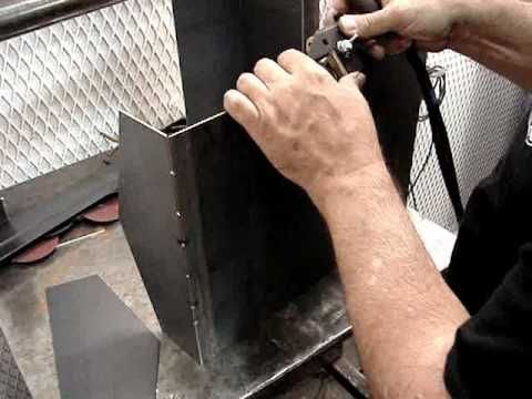 Sheet Metal Fabrication Here S A Good Tip For Tack Welding Metal Fabrication Welding Design Metal Working Projects
