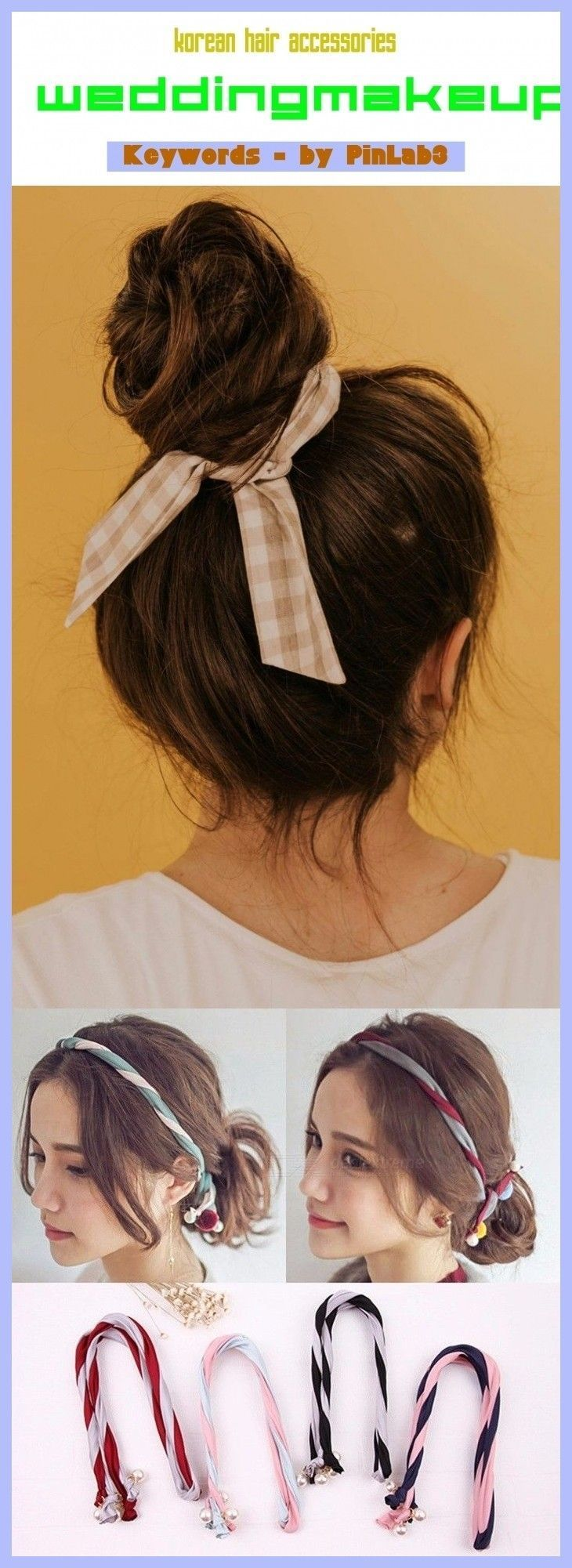 Korean Hair Accessories Korean Accessories Koreanische Haarzusatze Accessoi Korean Hair Access In 2020 Korean Hairstyle Hairstyles With Bangs Korean Hair Color