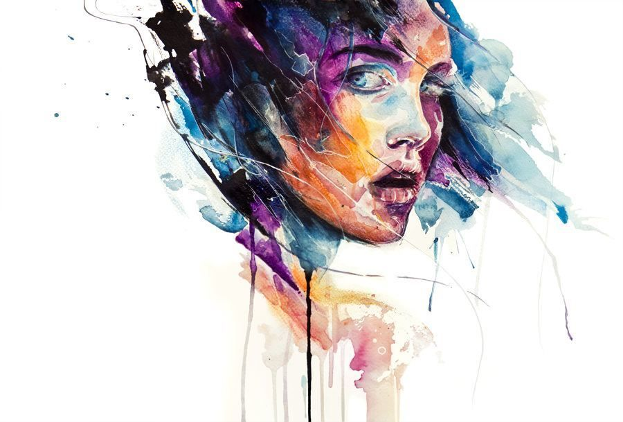 Agnes Cecile S World Of Watercolor Art Painting Images A Peindre