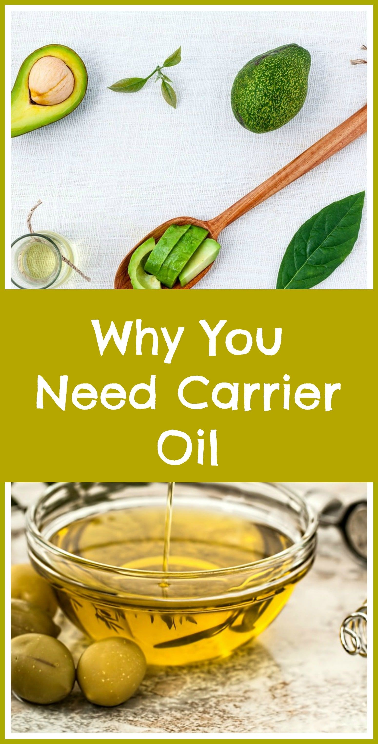Why use carrier oil with essential oils. Carrier oils do more than protect your skin from highly concentrated aromatic oils. Why they are needed, if you want to reap the full benefits of aromatherapy.