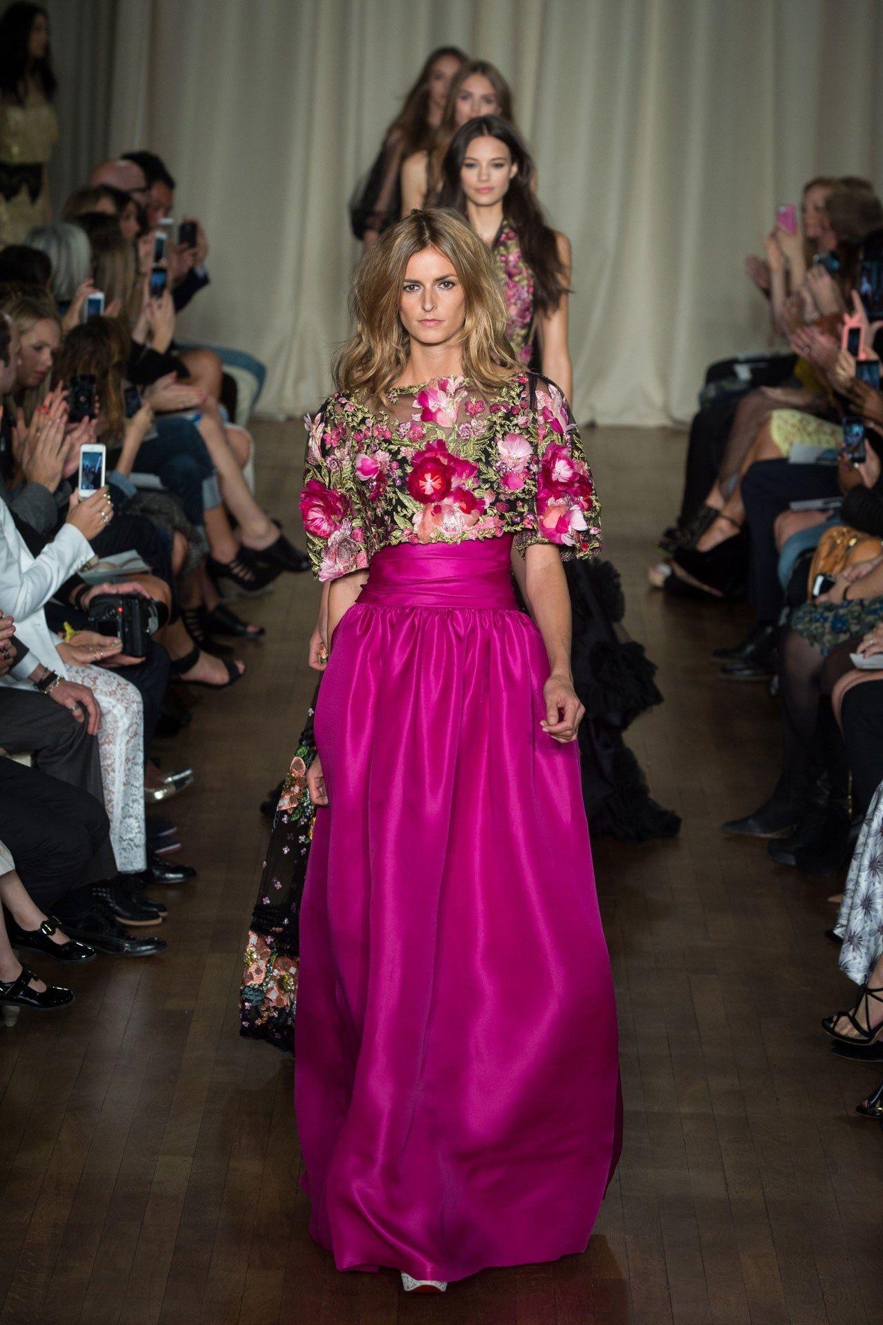 Suzy Menkes at London Fashion Week: Day Two | Desfiles, Vestido ...