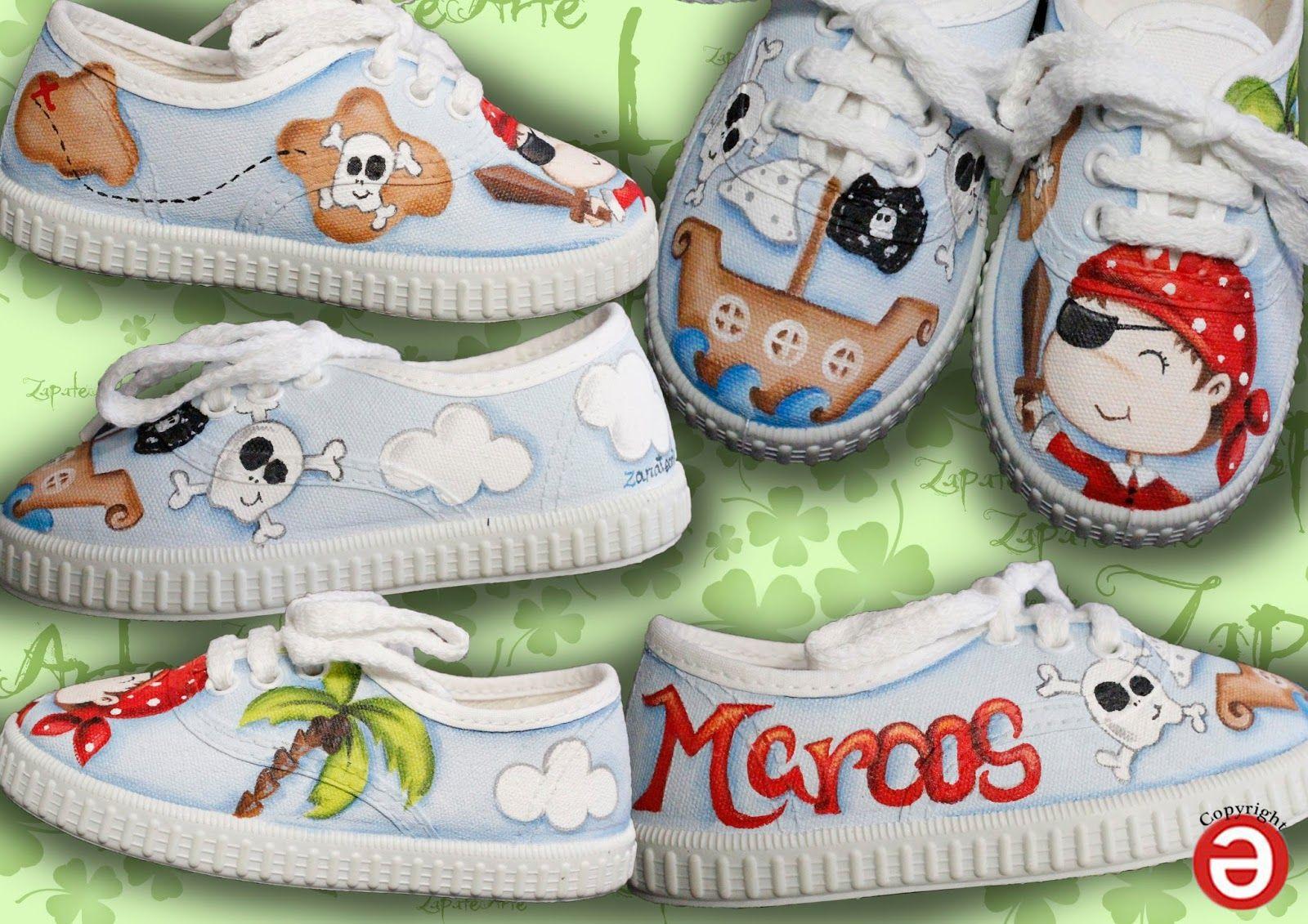 Regalos Para Bebes De Un Ano Originales.Zapatillas Pintadas A Mano Artesania Regalos Originales