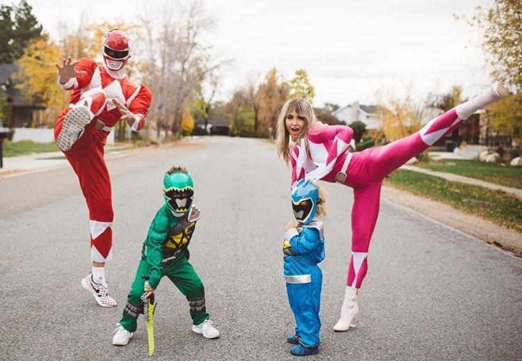 Family costume , Power Rangers